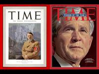 Hitler & Bush on Time Magazine Covers