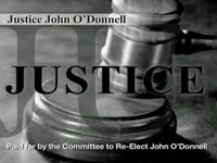 Justice John O'Donnell Ad