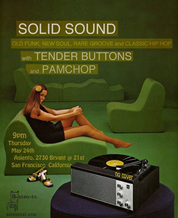 Solid Sound with Tender Buttons and Pamchop