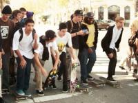 skaters on market st, sf
